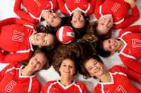Canton Varsity Volleyball Team 8-16