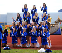 Salem Football/Cheer vs WLC 9-16