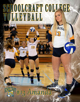 Schoolcraft College Volleyball vs Macomb 11-16