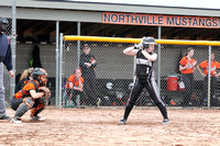 Plymouth Softball vs Northville 4-13